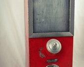 Antique OTTO KIND KOTTHAUSEN Coffee Dispenser display, Jelly Bean Cereal Peanut Container Jar Canister Box Bin Kaffeespender Silo (1)