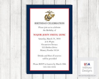 Marine corps commissioning ceremony invitation printable us marine corps birthday invitation printable marine corps birthday invitation military birthday invitation us marine corps birthday stopboris Gallery