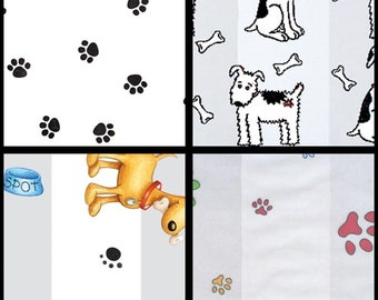 Pet Paw Print Cone Cellophane Bag Heat Sealable Treat Candy Bags Dog Gift 100pcs