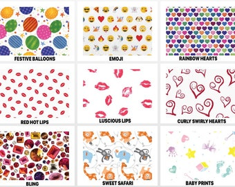 """SPECIAL OCCASION Design Print Gift Grade Tissue Paper Sheets - 20"""" x 30"""" Choose Package Amount"""