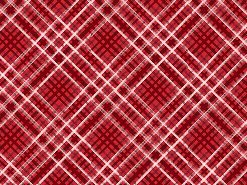 CHRISTMAS PLAID Print Gift Grade Tissue Paper Sheets 15 x 20 Choose Package Amount