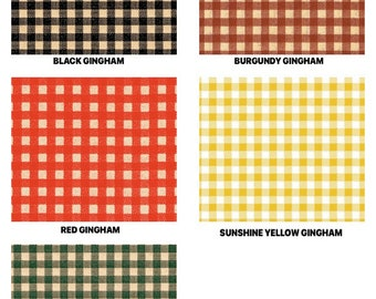 """GINGHAM Print Design Gift Grade Tissue Paper Sheets - 15"""" x 20"""" Choose Print & Package Amount"""