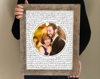 Mother of the Groom Gift- Personalized picture of mom and Groom, Gift for Mother from Son, Meaningful Gift for Mom, Wedding Thank You Gift