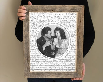 50th Anniversary Gift for Parents- 40th Wedding Anniversary Gifts, Golden Anniversary Present, Sentimental Gifts, Vow Renewal Gifts
