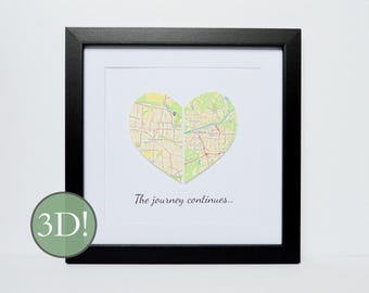 Moving Away Gift, Retirement Gift, Personalized Graduation Gift, Unique gift for graduate, Relocating Gift, Housewarming Gift, Goodbye Gift