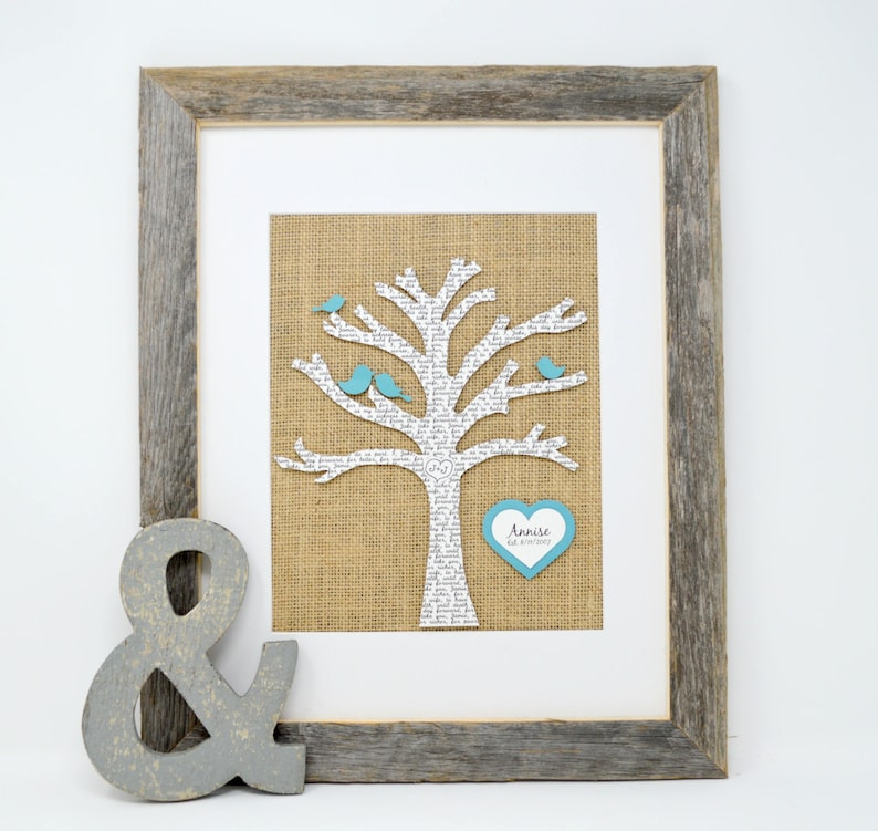 Family Tree Gift for Her Gift for mom Anniversary Gift for image 0