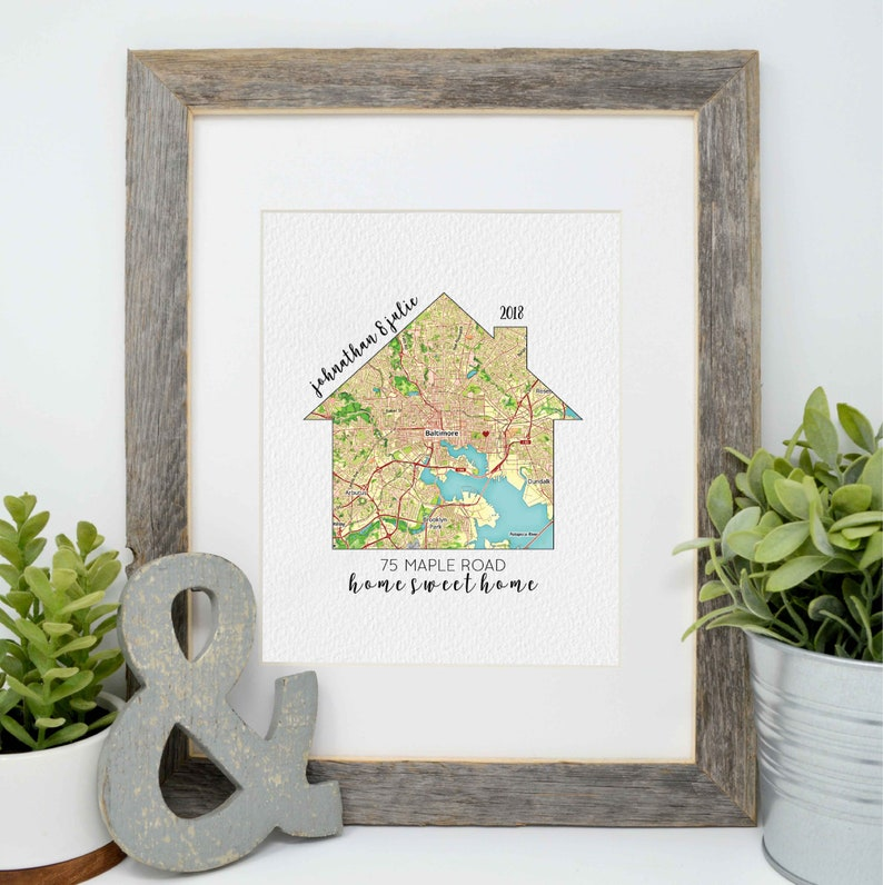 New Home Gift Realtor Gift Moving Gift Closing Gift image 0