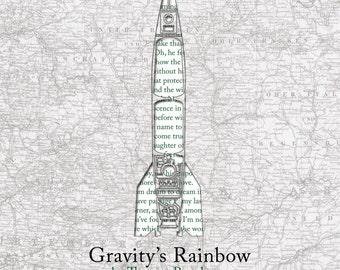 Gravity's Rainbow Poster Print