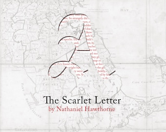 The Scarlet Letter Poster Print
