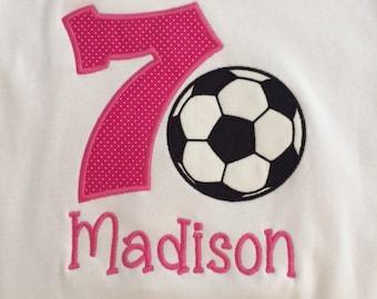 Soccer Birthday Shirt