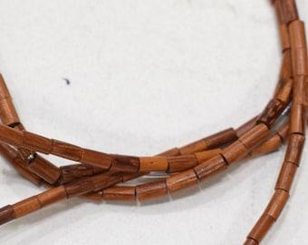 Beads Bayong Wood Tubes Beads 3-4mm
