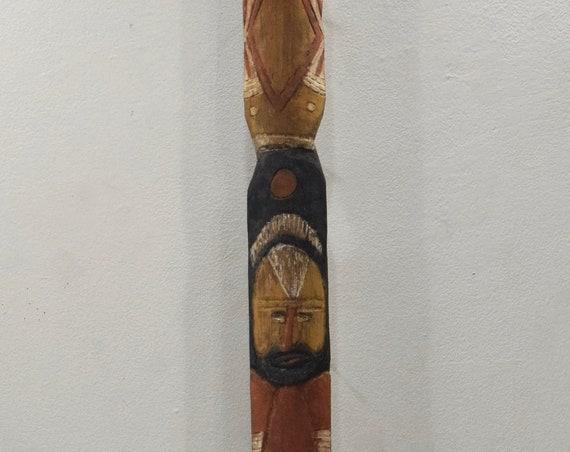 Papua New Guinea Yam Digging Sticks Abelam Tribe Prince Alexander Mountains