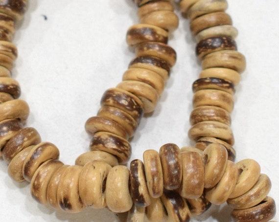 Beads Philippine Coco Wood Discs 8-9mm