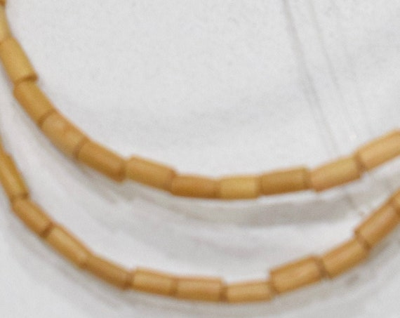 Beads Natural Wood Tubes Beads 4-5mm