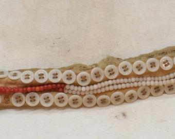 African Beaded Button Belt Bandolier Kamba Tribe Kenya South Africa