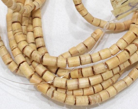 Beads Philippine Natural Wood Heishi 3-4mm