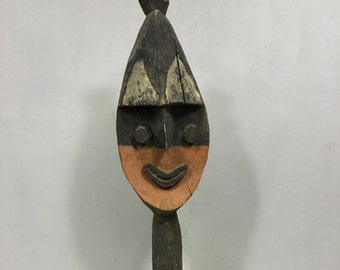 "Papua New Guinea Yena Yam Spirit Statue  Kwoma Tribe Yam Harvest Figure 28"""