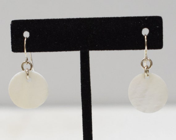 Earrings  Shell Round Earrings