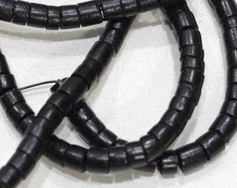 Beads Black Coconut Heishi 3-5mm