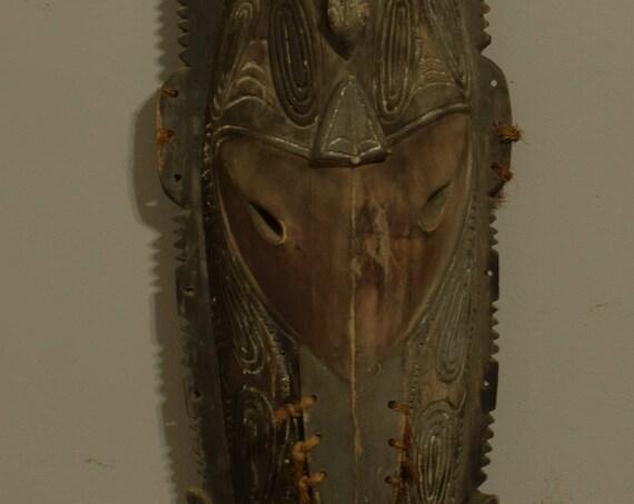 Papua New Guinea Figure Ancestor Angoram Totem Sepik River Wood Clan Symbols Figure