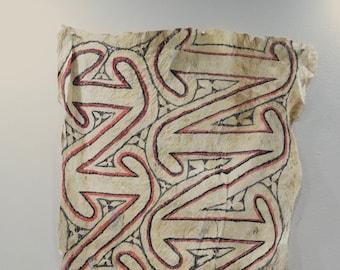 Papua New Guinea Barkcloth Ceremonial Baining Cloth