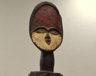 African Statue Vuvi Tribe Figurative House Post