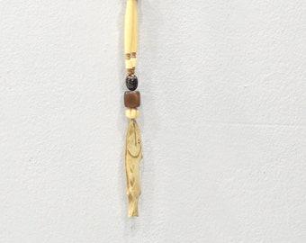 Necklace Bone Fish Pendant Necklace