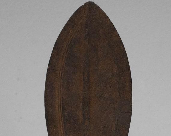 "African Kuba Ceremonial Congo Mens Knife 12"""