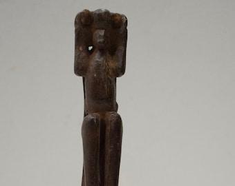 Slingshot Mayan Carved Wooden Monkey Baby Guatemala Slingshot