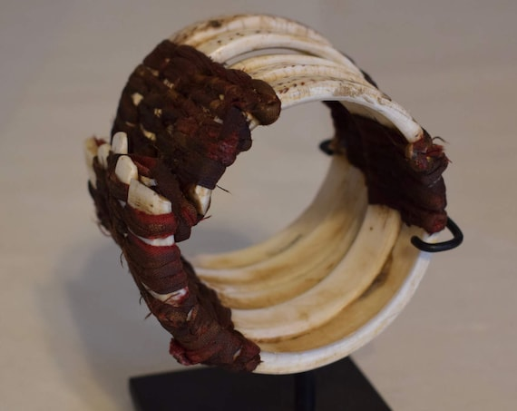 Papua New Guinea Clam Shell Currency Bracelet