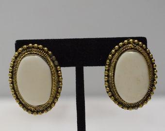 Earrings India Brass Bone Clip Earrings