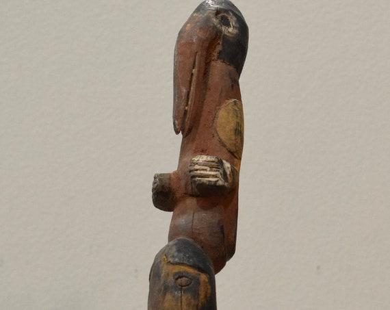 Papua New Guinea Sago Pin Maprik Wosera Abelam Tribe East Sepik Sago Pin
