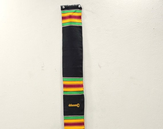 African Kente Cloth Stole Hand Woven Kente Cloth Ashanti Tribe Ghana
