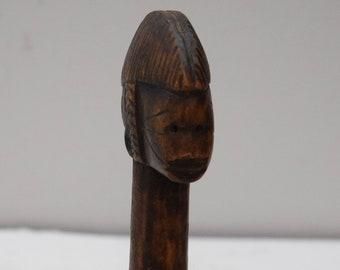 African Doll Fertility Burkina Faso (Mali)  Mossi Wood Fertility Doll