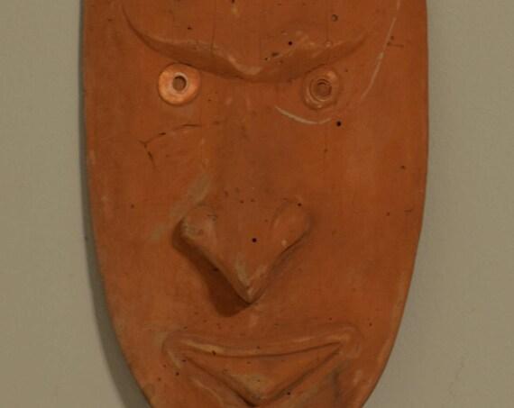 "Papua New Guinea Mask Savi Lower Sepik Ceremonial Male Mask 19"""