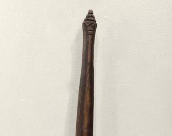 Papua New Guinea Wood Sago Stirring Stick