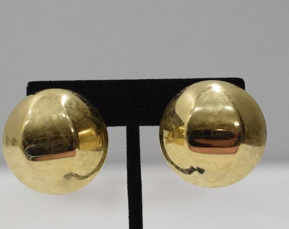 Earrings Gold Clip Earrings