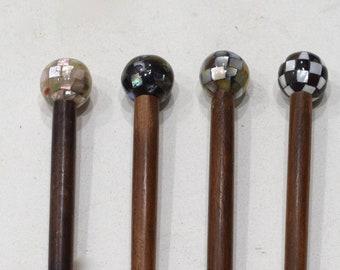 Hair Sticks Indonesian Assorted Shell Hair Sticks