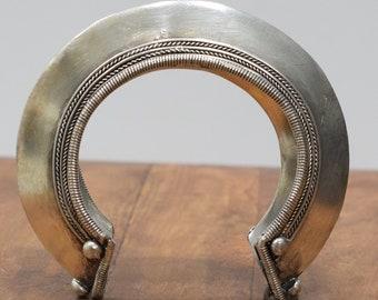 Bracelet Silver Miao Hill Tribe Cuff Bracelet