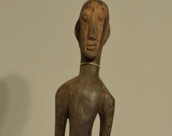 African Bamana Male Statue Mali Handmade Male Society Fertility Initiation Ceremonia Male Statue