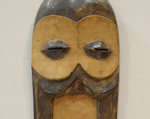 """African Bembe Wood Intiation DRC Mask 21.5"""""""