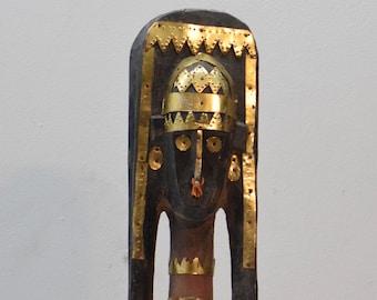 Mask African Bambara Bozo Marionette Puppet
