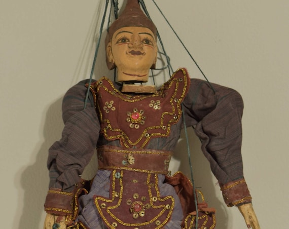 Puppets Marionettes Handmade Asia Puppet Wood Dolls Festivals Performances Puppets Fun Actors Folk Art Unique