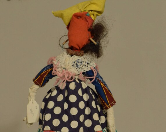 Doll Cloth Herero Costume Women Nambia Handmade Cultural Tradition Herero Doll