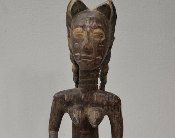 African Statue Baule Figure Mali