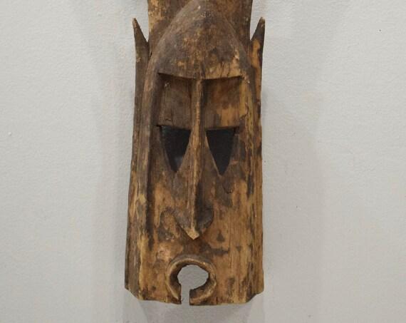 African Mask Dogon Kanga Rabbit Mask Mali Wood Dogon Mask