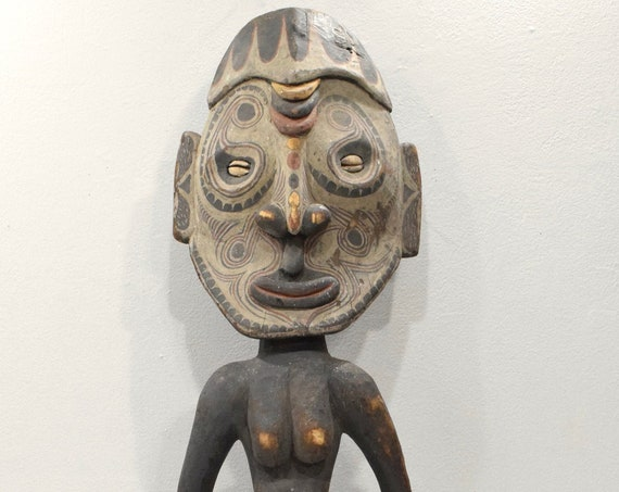 Papua New Guinea Statue Ancestor Figure