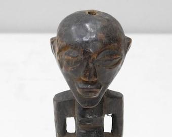 "African Statue Songye Fetish Figure DRC 7.5"""
