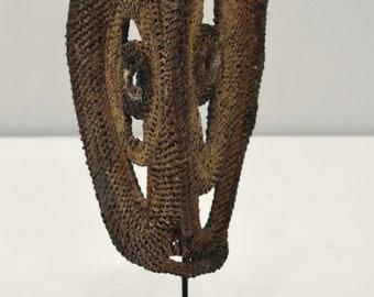 Mask Papua New Guinea Yam Abelam Woven Mask