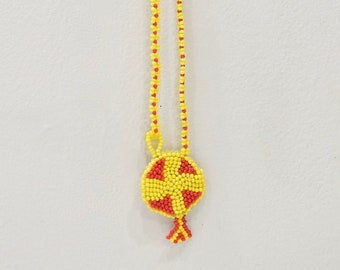 African Bushmen Beaded Necklace Botswana